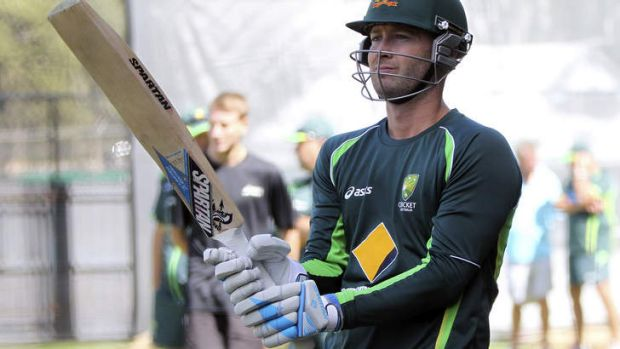 Good to go: Michael Clarke.