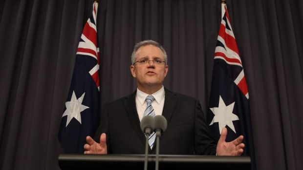 Immigration Minister Scott Morrison confirming the government's tougher stance against asylum seekers who arrive by boat.