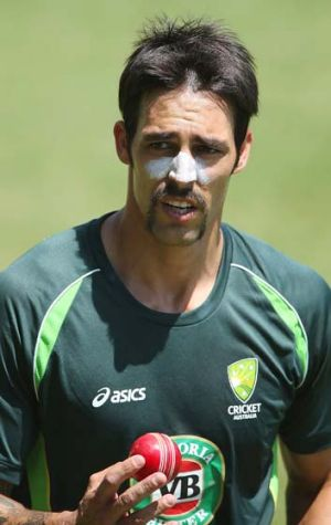 Mitchell Johnson's confidence in the past 18 months has been noted by Australian team officials.