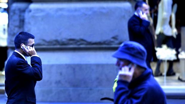 Telstra is 'vacuuming up' data from the telephone calls of Australian users.