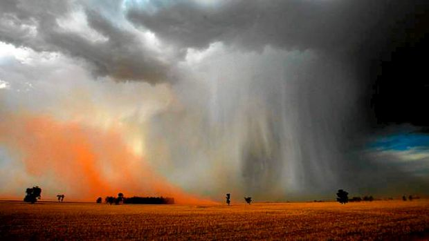 Droughts and flooding rains - and worse.