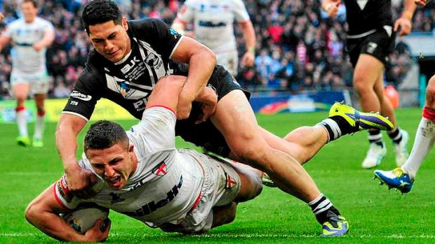 Sam Burgess has been a strong performer for Souths and England.
