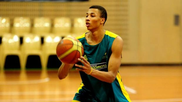 Potential NBA draftee Dante Exum at the AIS.
