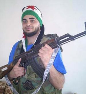 Lebanese-Australian man Zaky Mallah, from Parramatta, who travelled to the Syrian frontline in 2012.