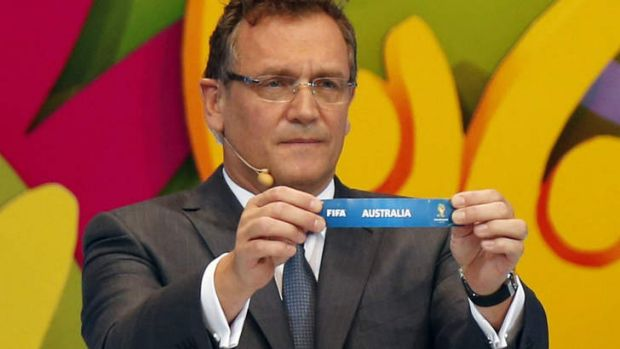 Undesired outcome: Australia were drawn in what could be described as the group of death.
