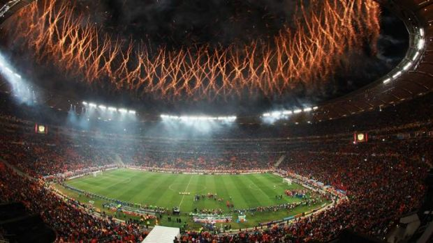 Fireworks: Both finalists from the 2010 World Cup in Brazil have been drawn in Australia's Group B.