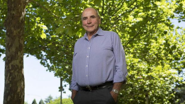 Climate Change Authority chairman Bernie Fraser.