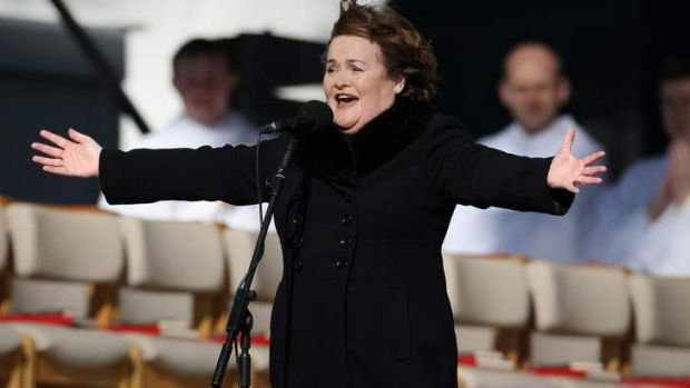 Susan Boyle: diagnosed with Asperger's syndrome.