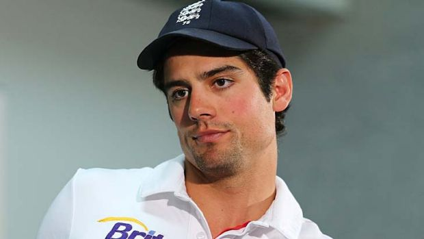 England captain Alastair Cook speaks to the media after Australia's victory in the second Test on Monday.