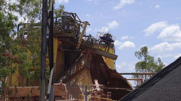 Disaster: The Ranger mine in the Northern Territory.