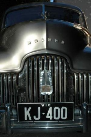 1946 Prototype: The first Holden rolled off the production line in Melbourne on October 1, 1948.