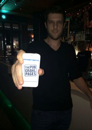 Adrian Bauk: creator of The Pub Crawl Pages app