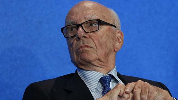 Insulted in his own paper: Rupert Murdoch.