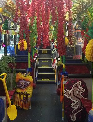 Eagle Farm depot takes out the Brisbane City Council's annual bus decoration competition held in the Christmas period.