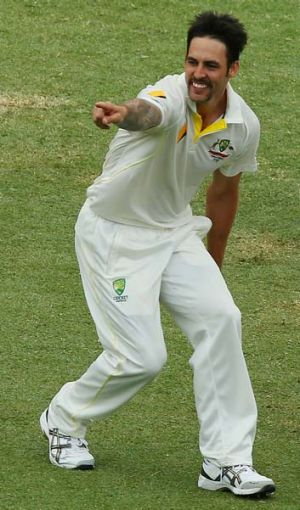 Mitchell Johnson is set for a big payday.
