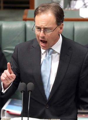 Approved projects: Greg Hunt.