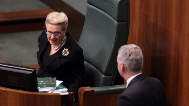 Manager of Opposition Business Tony Burke has accused Speaker Bronwyn Bishop of bias.