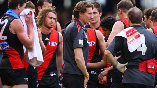 The club that felt the impact of a supplements program in 2013 was Essendon.