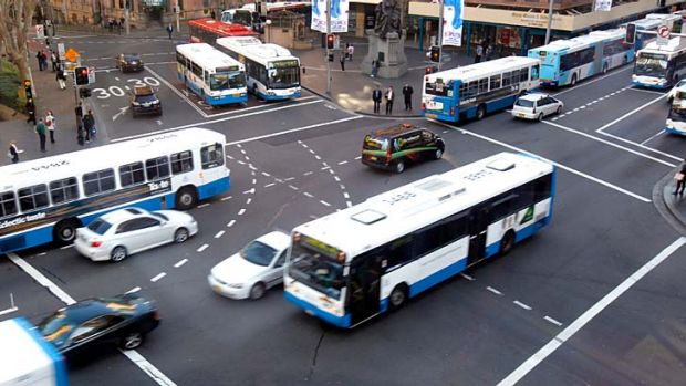 """""""The report does not specify how many more buses or depots will be needed to run the services, nor does it give details ..."""