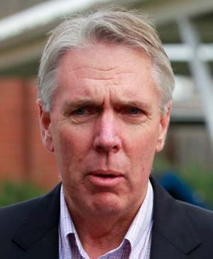 Victorian Water Minister Peter Walsh.