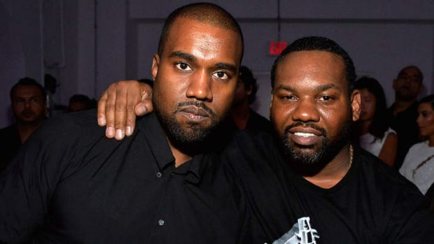 Race card ... Kanye West (left) is unhappy at lack of Grammy nominations for his album <i>Yeezus</i>.