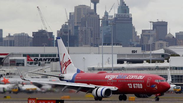 Virgin has opposed moving its operations to the international terminal at Sydney airport.