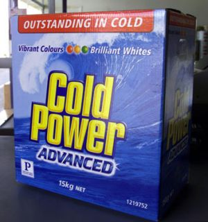 Cold Power laundry powder is one of the brands alleged to have been involved as part of the cartel.