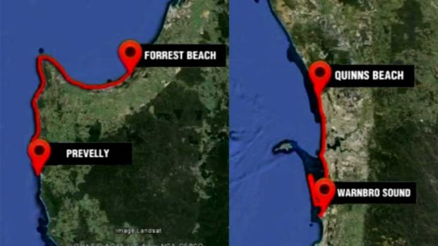 Two shark kill zones will stretch from Quinns Beach to Warnboro, and Geographe to Margaret River.