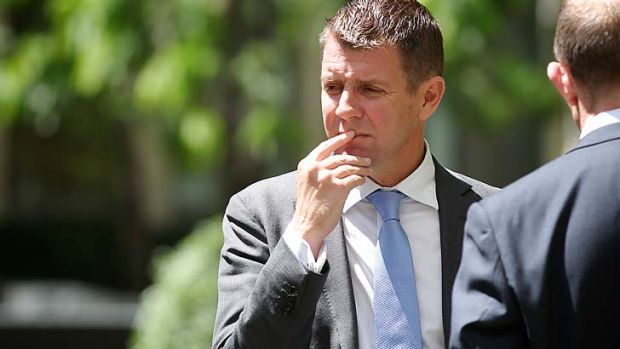 The NSW Premier, Mike Baird.