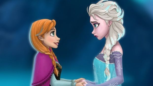 Anna and Elsa from Disney's hit new animated film Frozen are part of the set of characters that is bringing some gender ...