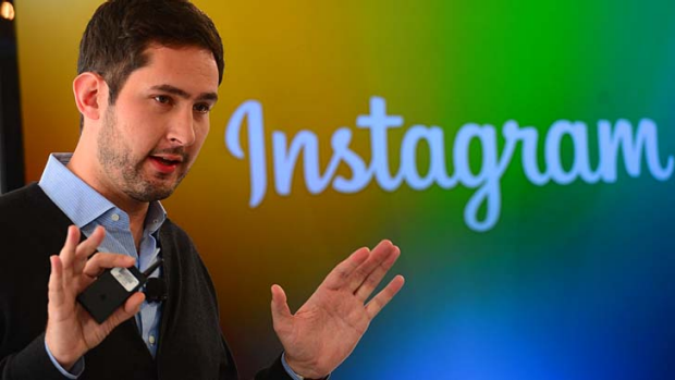 Instagram co-founder Kevin Systrom unveils Instagram Direct.
