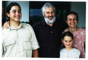 Moving on … The Ilich family in Galston, Sydney, in 2007.