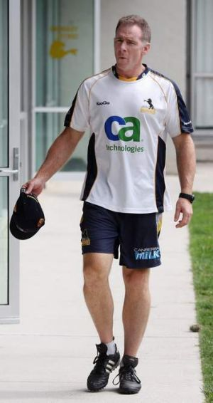 Former Brumbies coach Andy Friend.