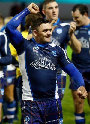 Worthhis weight in gold: Scotland's Danny Brough.