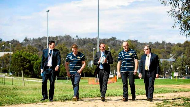 The ACT Brumbies will move into a $15 million high-performance centre at the University of Canberra next year.
