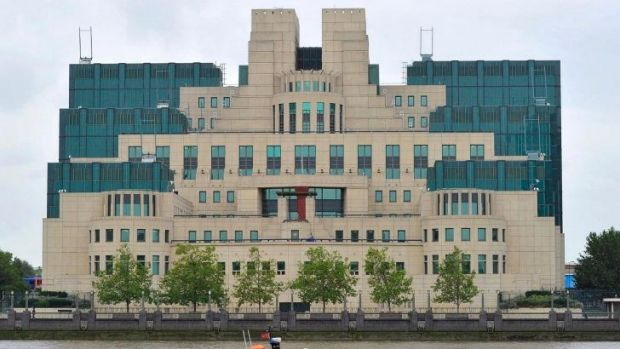 "Latest ""spy"" caught by Iran allegedly had contact with MI6: The MI6 building in London."