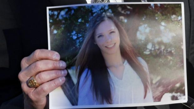 Victim: A picture of Claire Davis, 17, who was shot and wounded.