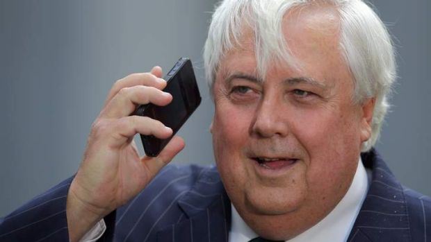 Member for Fairfax Clive Palmer.