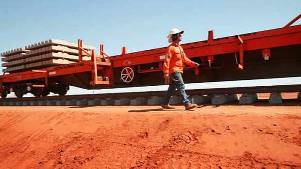 Modern rial and port infrastructure gives Fortescue an advantage over its rivals, analysts say.