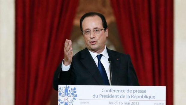 French President Francois Hollande won't attend the Sochi Olympics.
