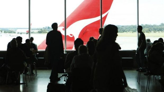 "Tony Abbott says it is time ""to unshackle Qantas.''"