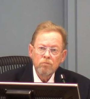 On the stand: Brother Michael Hill giving evidence at the commission.