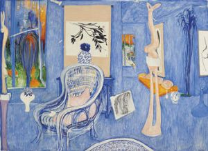 Brett Whiteley's <i>My Armchair </i>was sold for $3.92 million.