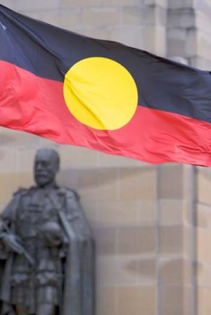 """""""The Abbott government confirmed its plan to cut $43 million of funding from indigenous legal aid""""."""