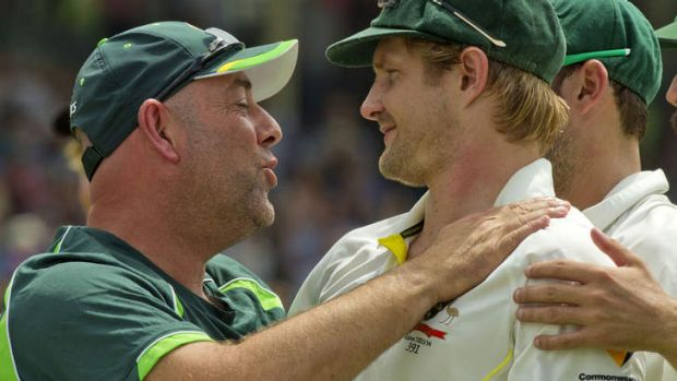 The Boof effect: Shane Watson was just one of many Australian players who paid tribute to Lehmann, saying it was the ...