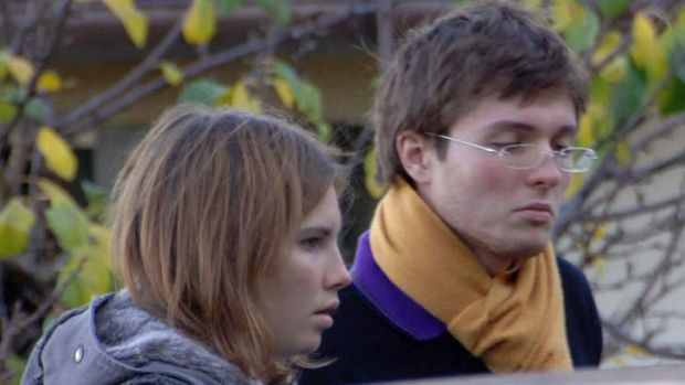 Lengthy court drama ... A file photo from 2007 shows American exchange student Amanda Knox, left, and her Italian ...