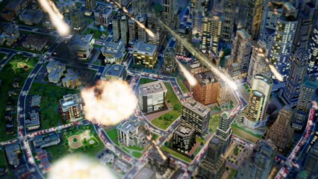 I should probably feel bad about the meteor strike, but I can't help feeling SimCity deserves it.