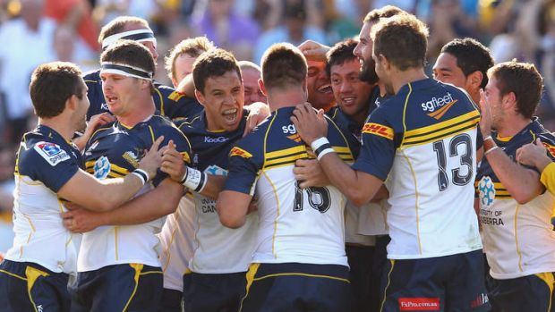 Something to cheer about: The Brumbies could have been insolvent if not for the sale of their Griffith training site.