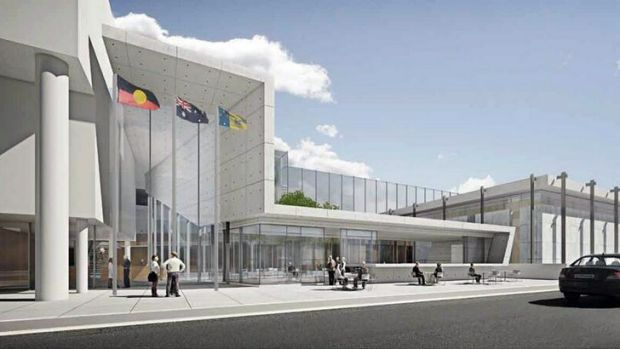 An artist's impression of the proposed new Supreme Court building.
