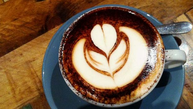 Caffeine hit: Buying coffee is one of the biggest growth engines for retail sales.
